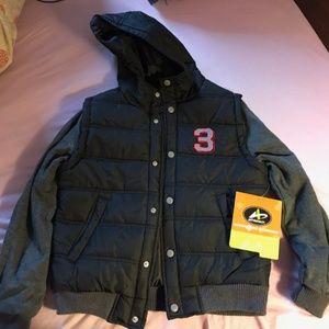 Boy's snap up winger jacket